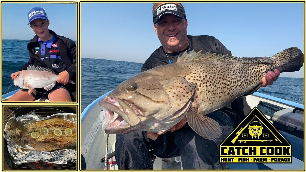 Epic Catface on Ultra Light Tackle     Done to Perfection on the Weber [CATCH COOK] - youtube